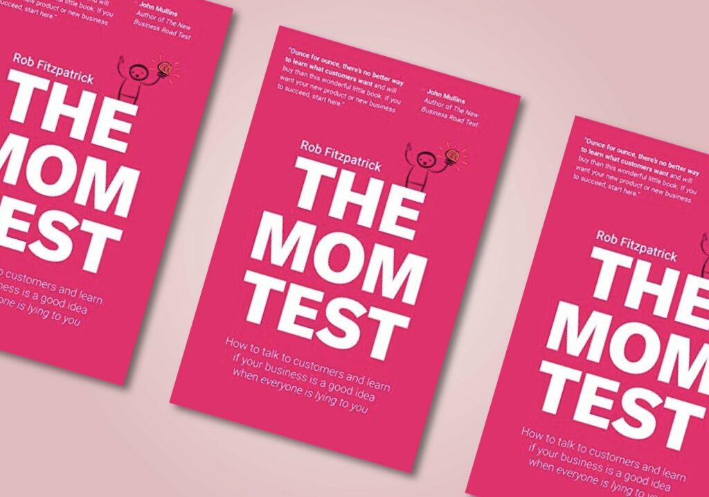 cover van De Mom Test