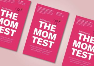 cover van De Mom Test